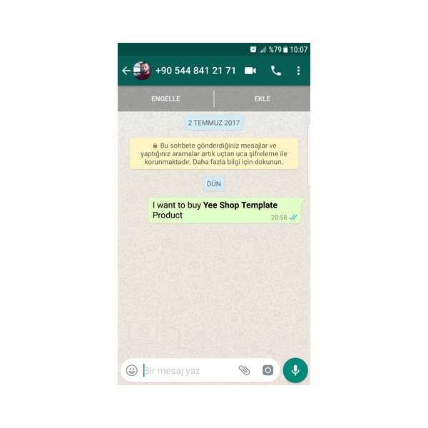 Whatsapp Live Chat V3