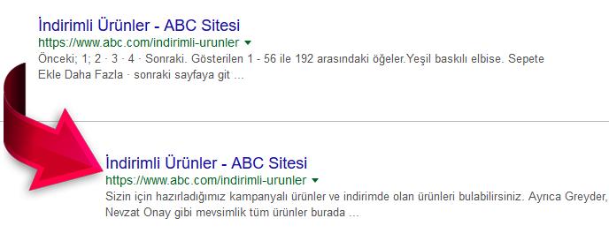 Google Seo yapma