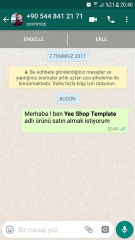 Whatsapp Paylaş Buttonu